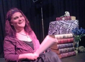 Ariel reading at 2003 Poetry At The Playhouse