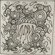 CC Willow ink art Zentangle 132