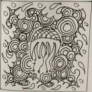 CC Willow ink art Zentangle 132