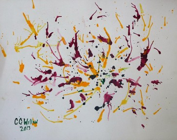 Abstract 1 acrylic