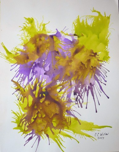 Abstract 5 acrylic