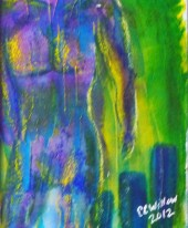 Abstract Nude multimedia