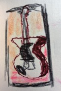 Doug's Guitar ink