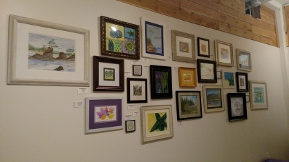 CC Willow's gallery wall