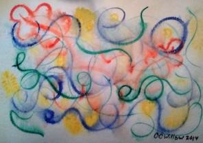 Joy watercolor