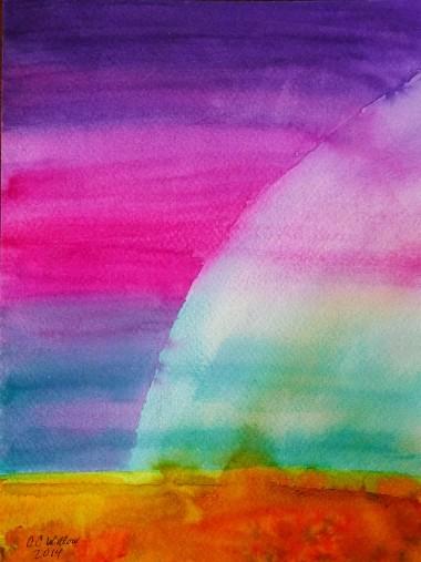 Lightshine watercolor