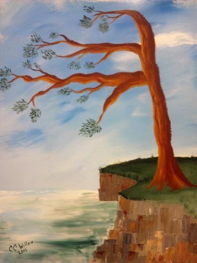 Coastal Tree 30x24 acrylic