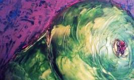 Pear 1 9x12 acrylic