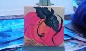 Pumpkin 1 acrylic