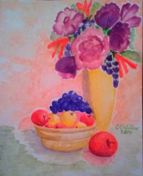 Rearrangement watercolor