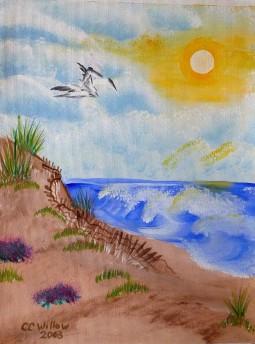 Seaside 2 acrylic