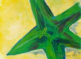 Starfish 3 12X9 acrylic