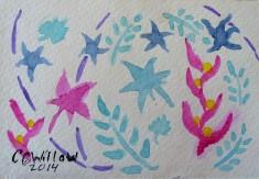 Undersee Garden watercolor
