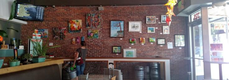 Venti's Gallery Wall