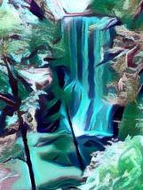 Verdant Waterfall
