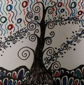 20170119 zentangle 215 ink & watercolor WB (2)