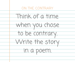 30Day Poetry Challenge Day 2 prompt