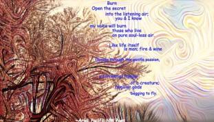 Burn poem meme