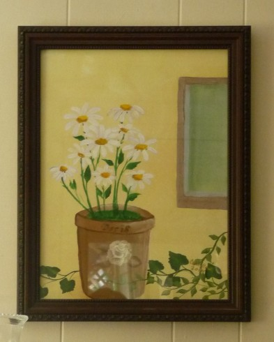 Doris' Daisies by CC Willow