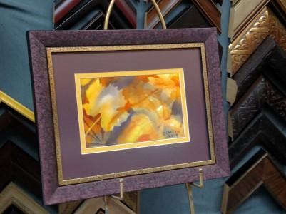 Fallen Leaves 2 framed shop 02