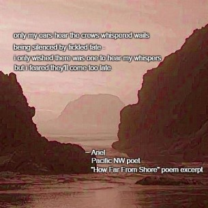 How Far From Shore poem meme 001