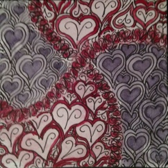 Zentangle 238 by CC Willow