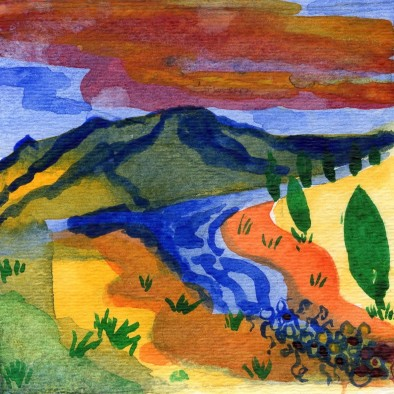 Painted Hills by CC Willow