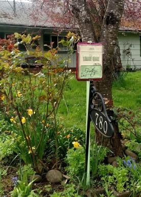Poetry Box @ Boxwood Cottage