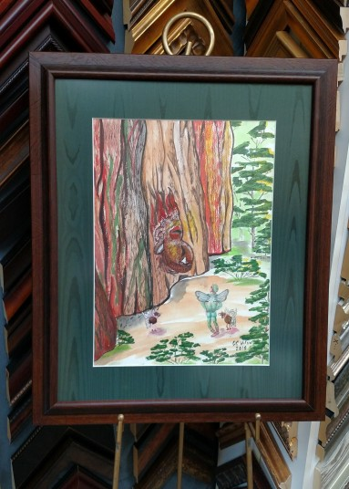 Wood He Say That Again framed etsy