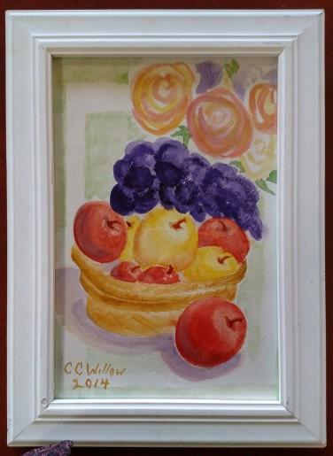 ReRearrangement watercolor art show 3