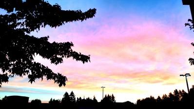 Rainbow Sunset photography