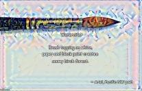 Watercolor haiku poem meme