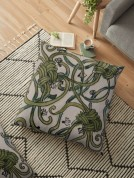 Zentangle 210 floor pillow