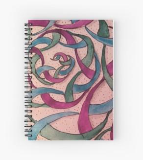 Zentangle 240 spiral notebook