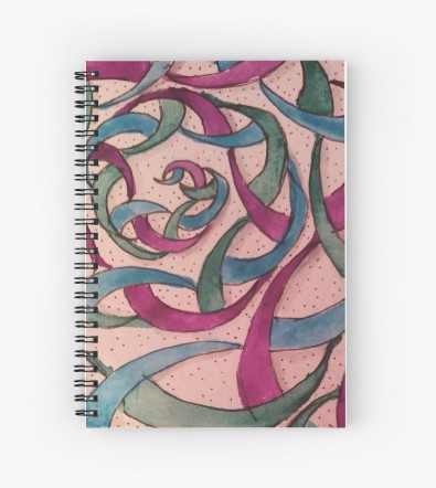 Zentangle 240 spiral notebook