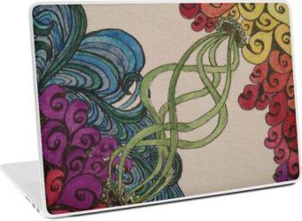 Zentangle 311 laptop skin