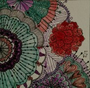 Another Zentangle 267by CC Willow