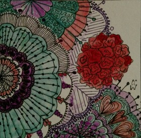 Zentangle by CC Willow