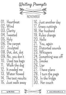 November 30 Day Challenge