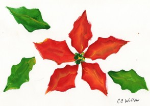 Poinsetta by CC Willow