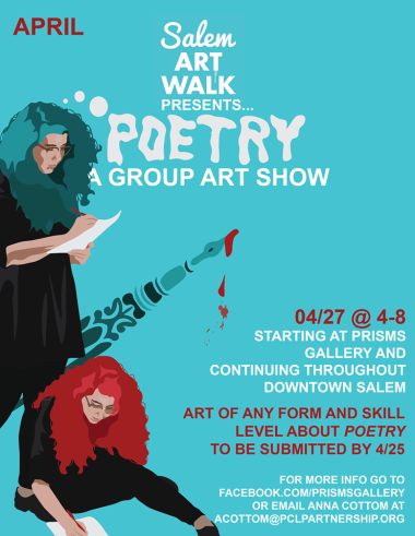 SAW Poetry flyer