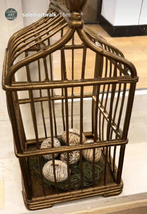 The Cage is Wicker Not Gold
