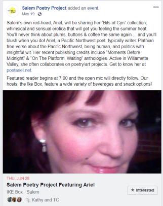 June Salem Poetry Project