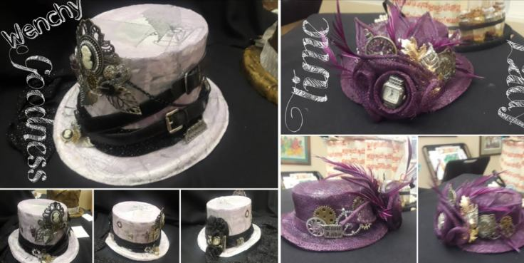 Steampunk Hats by CC Willow