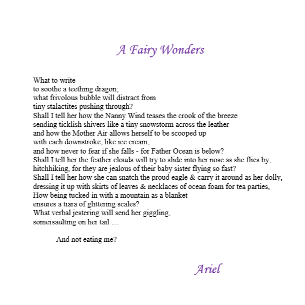 A Fairy Wonders by Ariel