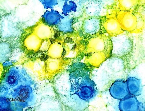 Microcosm alcohol ink