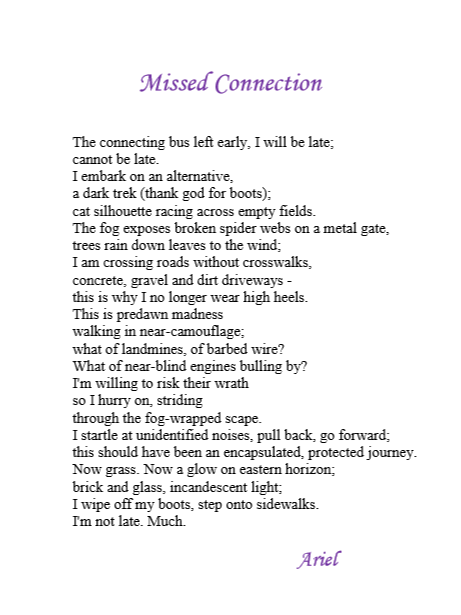 Missed Connections by Ariel