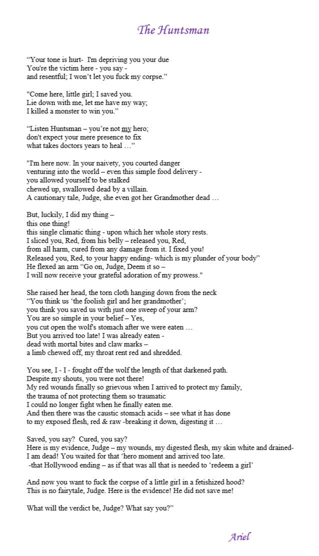 The Huntsman by Ariel