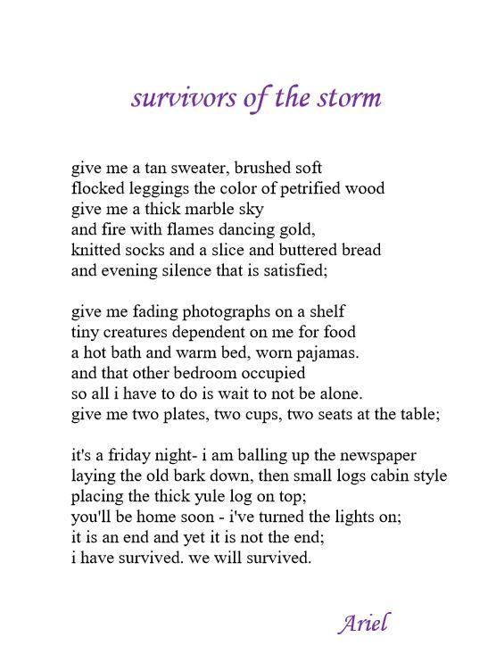 Survivor of the Storm pub 20181118