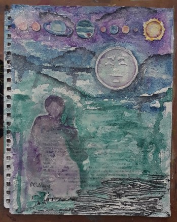 Art Journal cover by CC Willow